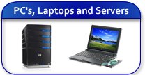 PC's Laptops and Servers
